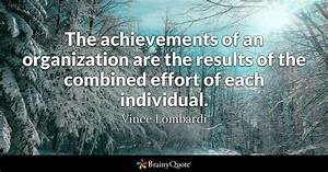 Vince Lombardi ... Team Accomplishments Quotes