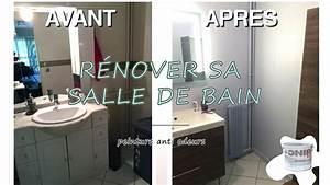 Salle De Bain Rénovation : r novation de salle de bain peinture anti mauvaises ~ Nature-et-papiers.com Idées de Décoration