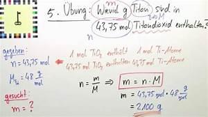 Chemie Mol Berechnen : stoffmenge masse molmasse bung chemie online lernen ~ Themetempest.com Abrechnung
