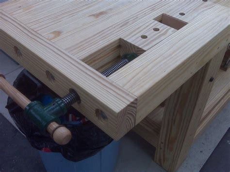workbench tail vise plans diy  plans