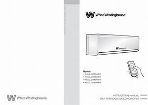 Split Type Air Conditioner Manual
