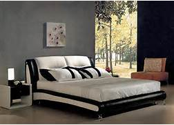 Platform Bed Decoration Gorgeous Black And White Worth Platform Bed Design In Bedroom With
