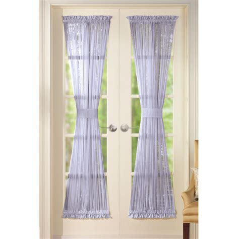 door panel curtains sheer door panel curtains by collections etc