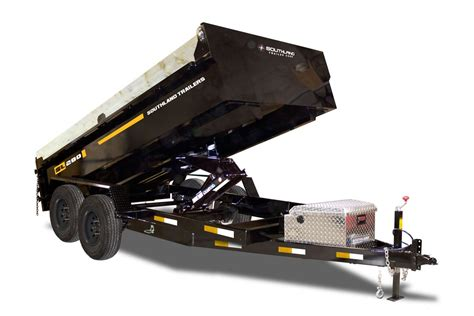 southland high capacity dump trailer tait trailers