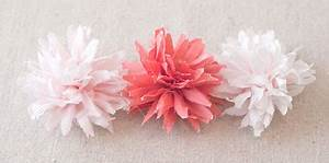 Papierblumen Basteln Anleitung : papierblumen basteln aus krepppapier seidenpapier ~ Orissabook.com Haus und Dekorationen