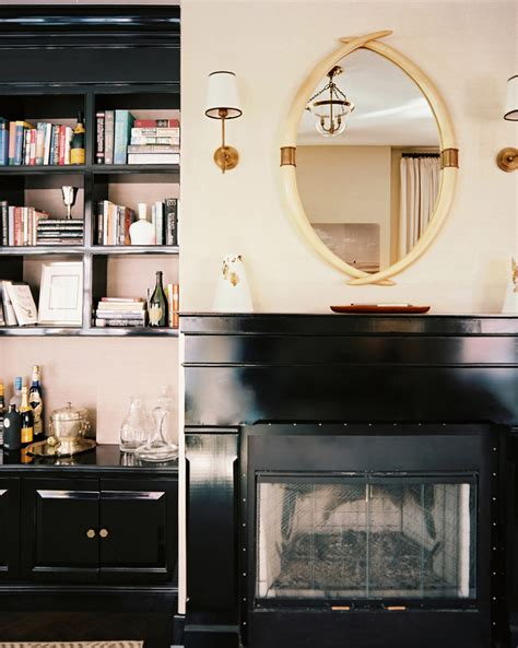 bookcase   fireplace  design ideas remodel
