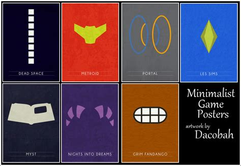 My Sims 3 Blog Minimalist Game Posters By Cupcake Sims