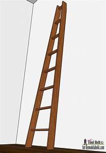 Make A Wooden Ladder Remodelaholic Decorative Orchard