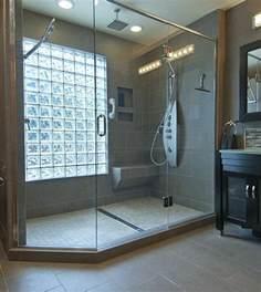 salle de bain avec brique de verre mettons des briques de verre dans la salle de bains archzine fr