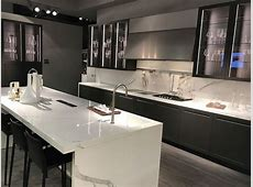 Keep Up With The Waterfall Countertop Trend – Looks That