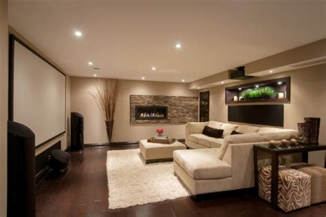 Home Design Basement Ideas by 24 Stunning Ideas For Designing A Contemporary Basement