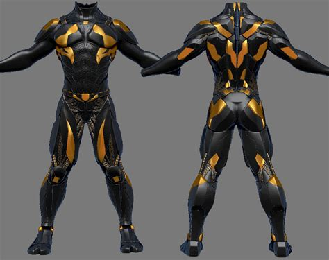 armor si e social suit scifi by sidimention sci fi sci fi