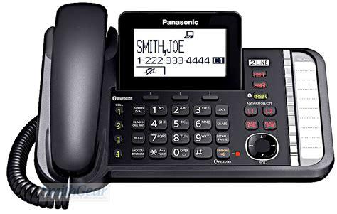 bluetooth phones panasonic kx tg9583b 2 line bluetooth phone 3 handsets