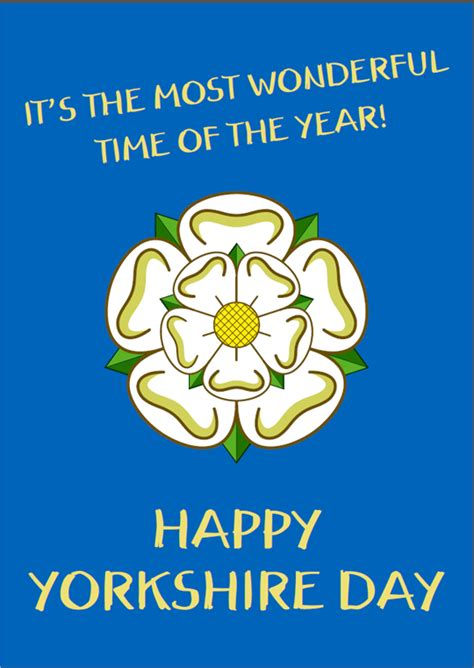 'Yorkshire Day' Greetings Cards - Pack of 10 - I'm From ...