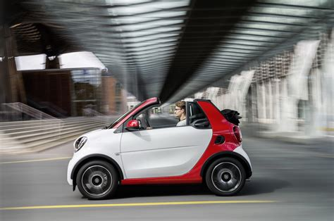 New Smart Fortwo Cabrio Is Americas Cheapest Convertible
