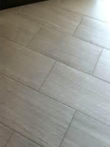 florim stratos avorio 12x24 porcelain tile master bathroom floor mapei grout 93 warm gray