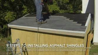 how to shingle a shed roof how to build a shed part 9 install asphalt shingles on