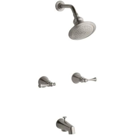 kohler revival  handle  spray tub  shower faucet