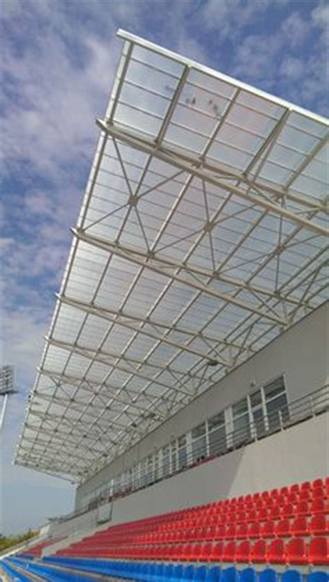 translucent facade in polycarbonate panels by rodeca gmbh polycarbonate transparent glazing