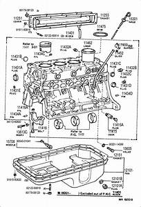 Toyota Land Cruiser Gasket  Oil Pan