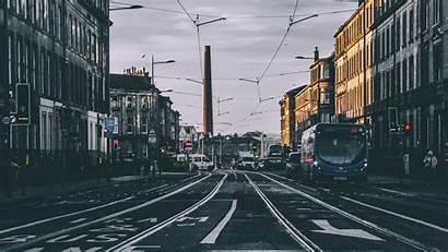 Street Road 4k Traffic Transport Background 1080p