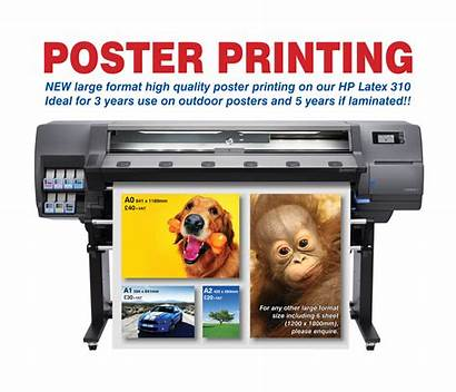 Printing Poster Services Hp Sizes Any Latex