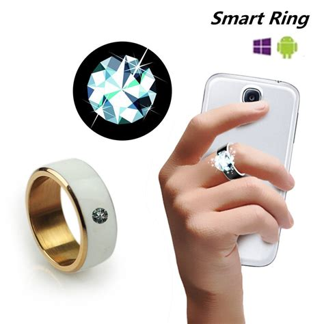 ring my phone new nfc smart ring for android wp8 cell phone wear magic
