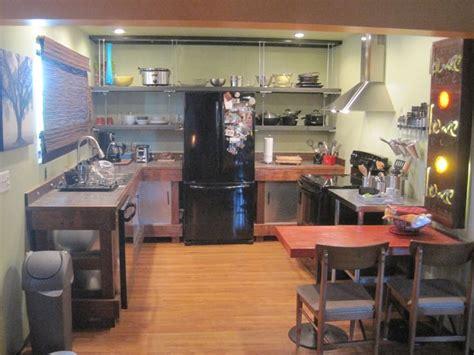 unistrut condo kitchen dishwasher condo