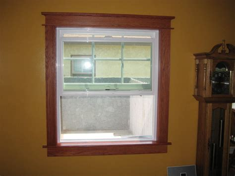 trim craftsman window windows oak crafts arts styles stained vinyl casing door interior projects lumberjocks dark trims woodworking baseboard google