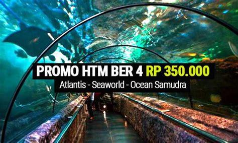 promo seaworld ancol htm ber  rpk indomaret alfamart