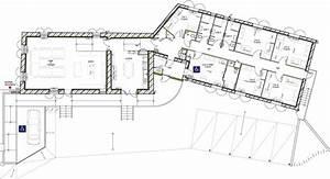 plan de maison plein pied en v With plan de maison plain pied 5 chambres