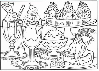 Coloring Pages Printable Delicious Credit