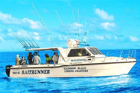 Fishing Boat Hire Rainbow Beach by Rainbow Beach Fishing Charters Bush N Beach Fishing
