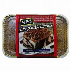 McCain Deep 'n Delicious Marble Cake reviews in Frozen