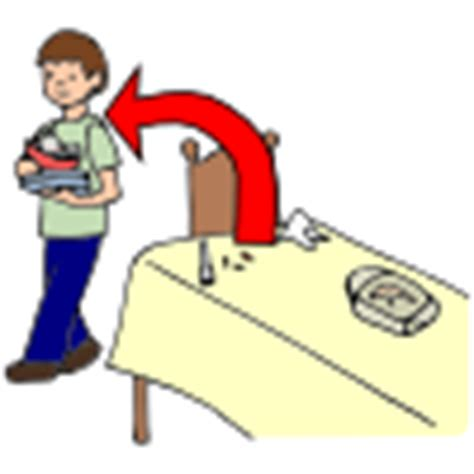 clear the table clipart cleaning pictures for classroom and therapy use