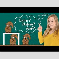 German Lesson (107)  Two Way Prepositions  Dative Or Accusative  A2 Youtube