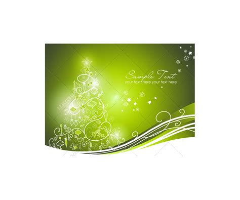 greeting cards  christmas tree vector graphics