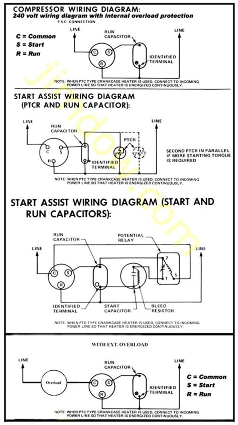 ptc relay wiring diagram 24 wiring diagram images