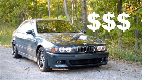E39 Bmw M5 Maintenance Costs? 4 Year Ownership Review