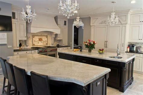 taj mahal quartzite  dark cabinets kitchen updates