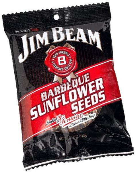 jim beam sunflower seeds jim beam barbecue sunflower seeds quot roasted by bigs quot 5 15 ounce bag pack of new ebay