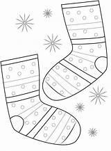 Socks Coloring Pair Socken Pagina Clipart Colorant Chaussettes Paires Paia Colorano Calzini Sokken Kleuren Paar Dei Che Fox Paare Faerben sketch template