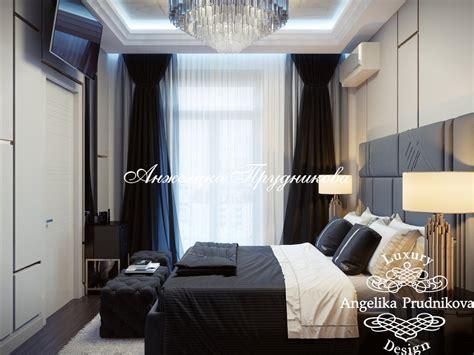 Дизайн-проект интерьера спальни в стиле модерн в ЖК