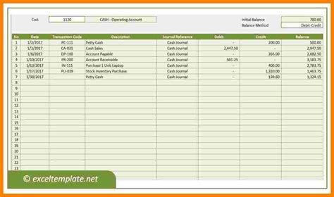 Business Ledger Template 10 business ledger template ledger review
