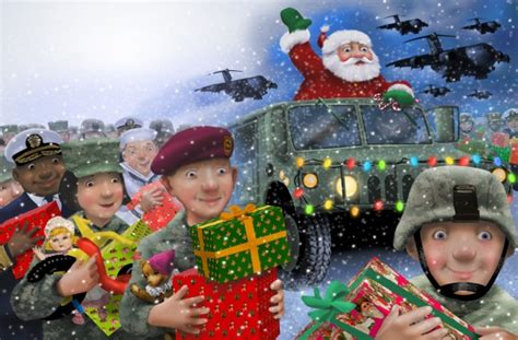 do you love santa and the armed forces classic christmas