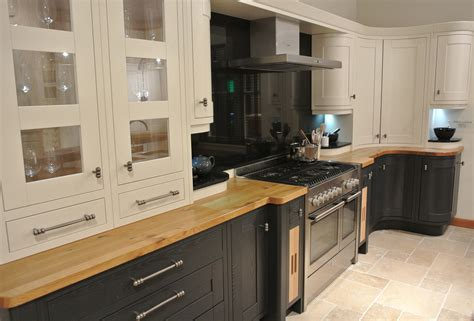 Milton Charcoal and Oak In Frame Kitchen   Interior