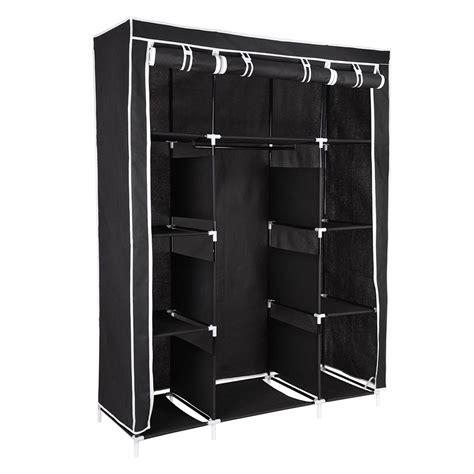 "67"" Portable Closet Storage Shelves Colthes Fabric"