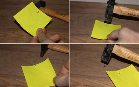 truc et bricolage trucs et astuces de robert 18 clouer une pointe sans s 233 craser les doigts le