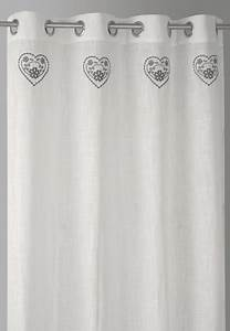 Rideau Gris Et Blanc : rideau blanc et gris ~ Dailycaller-alerts.com Idées de Décoration