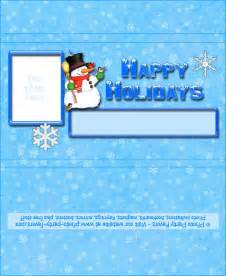 Free Printable Snowman Candy Bar Wrappers